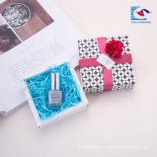 Free sample custom small cosmetics gift box set manufacturers