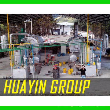 Xinxiang HuaYin 10T Furnace Oil Heavy Fuel Oil, Residue Oil Refinery Plant To Diesel And Gasoline