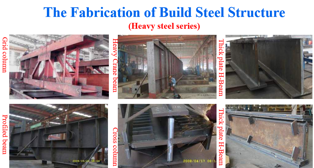 the fabrication of building steel structure four