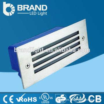 Precio competitivo AC85-265V empotrada LED luz de la pared de la escalera 3w