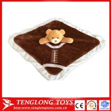 Медведь игрушка ребенок успокаивает полотенце baby pinafore