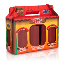 Full-Color Printing Cardboard Lunch Box, PDQ Corrugated Box