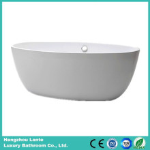 Wholesale Acrylic Fiber Glass Simple Bathtub (LT-25D)