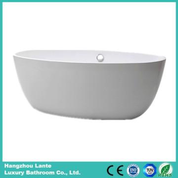 Venta al por mayor de acrílico de fibra de vidrio simple bañera (LT-25D)