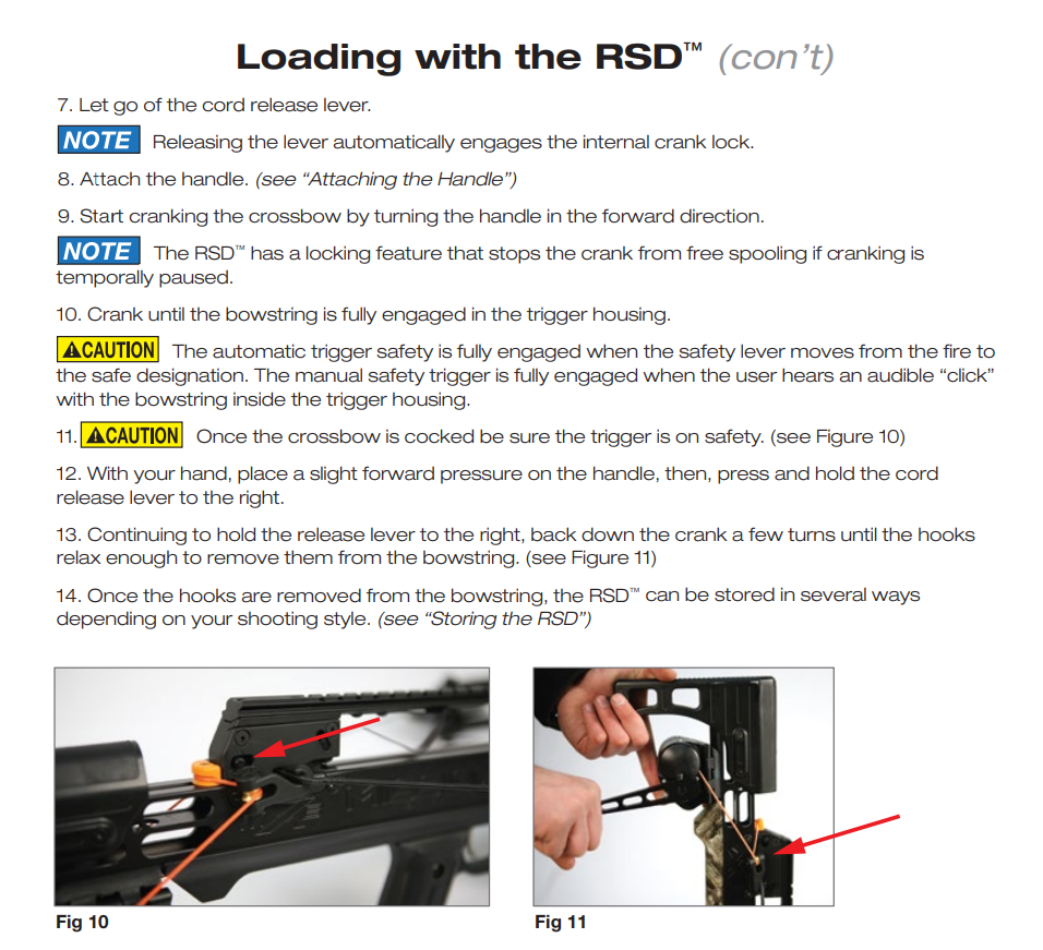 Loading with RSD