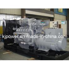 Gerador Diesel de 1250kVA com motor Perkins (4012-46TWG2A)