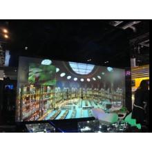 Exposição transparente de um LCD de 84 polegadas para anunciar, mostra do produto