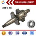 168FB Low Price Iron Forged Crankshaft Supplier