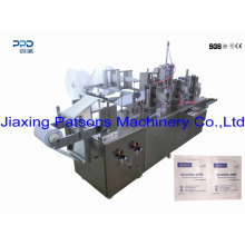 Moist Towelette Single Pack 4 Side Sealing Wet Tissue Making Machine