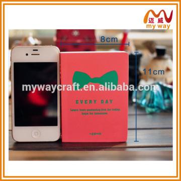 Almofada de memorando de capa dura adorável, nota adesiva de alta qualidade para o fornecimento escolar