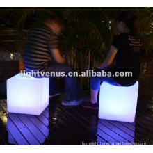Night emotion creating LED Cube Chair
