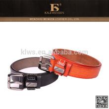 Europe Standard brown leather belt