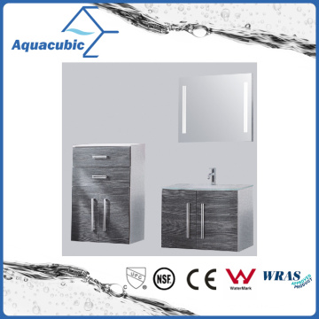 Double Doors Bathroom Vanity Combo in Black (ACF8919)