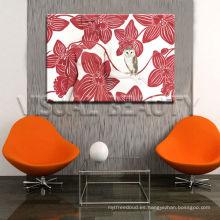 Pintura de flores Bloom, cuadro de pintura para la decoración del hogar