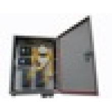 Caja terminal de la fibra óptica, caja impermeable al aire libre, SC / FC APC / PC caja de la terminal de la fibra de la coleta