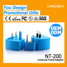 Longrich Universal-Reiseadapter / Reise-Stecker-Adapter UK / EU / US / AUS