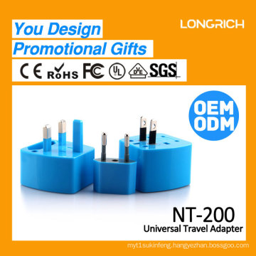 Longrich universal Travel Adapters / travel plug adaptor UK/EU/US/AUS