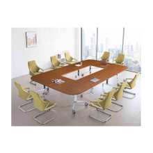 Cheap price and high quality melamine folding conference table