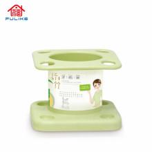 Porte-brosse à dents en fibre de bambou Articles de toilette pratiques