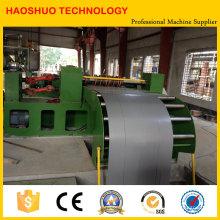 Máquina de corte de aço do silicone automático, cortando a linha para o transformador