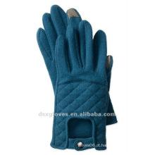 Driver touch touch screen luvas de mistura de lã