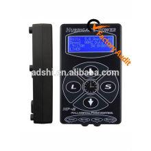 Black Hurricane Digital LCD Tattoo Netzteil / Stromquelle für Tattoo Maschine