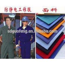 sarga patrón tc tela 21 * 21 108 * 58 para ropa de trabajo uniforme con servicio DEL OEM