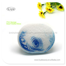 Hydrophilic Sponge for Facial Cleaning