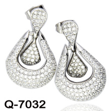 New Design 925 Silver Fashion Earrings Imitation Jewelry (Q-7032.)