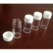 5ml frascos de vidrio transparente Mini Tubular para el embalaje de la píldora