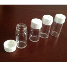 5ml Tubular Clear Mini Glass Vials for Pill Packing