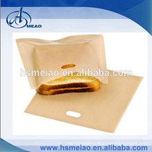 """Sandwich / Bocado Non-Stick reutilizable """"en tostadora"""" que asa a la parilla Bolsas"""