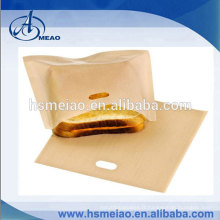 "Sandwich / Snack réutilisable Non-Stick Sandwich / Snack ""In Toaster"" Grilling Bags"
