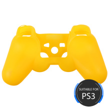 Funda de silicona de color puro para consola PS3