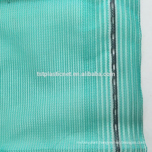 round yarn green blue plastic shading netting for construction use