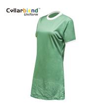 Uniforme vestido de garçonete de serviço de alimentação personalizado para mulheres