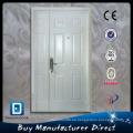 Mom und Sohn Double Hung Steel dekoriert Hartglas Tür