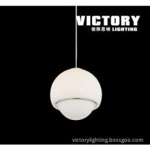 led pendant light glass moden lamp