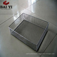 Stainless Steel Wire Mesh Cooking Basket