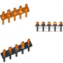 Двойной твердости/цвета силикона резиновая Клавиатура для электроники