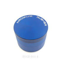 1p4c cromo chapeado moinho de erva moedor triturador de fumaça (ES-GD-011-XL)