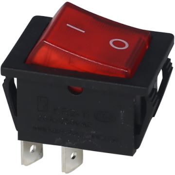 Dpst Light Dpst Light Rocker Switch dengan 4 Terminals
