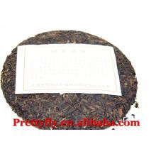 Venda quente Yunnan maduro Puer chá 357g Menghai BanZhang forma de bolo, preço competitivo chá fermentado