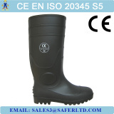 beautiful steel toe pvc safety rain boots