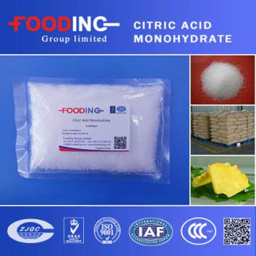99,5% Monohidrato de ácido cítrico FCC Bp USP