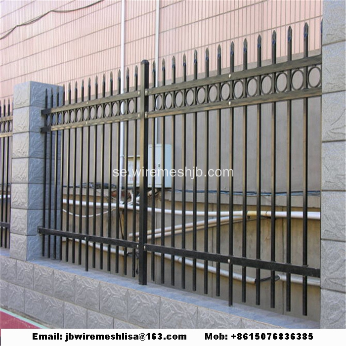 Powder Coated Zinc Steel Fence Paneler