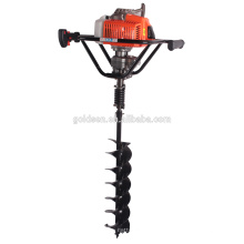 68cc 2200w Hand-Held Manuel Fence Post Hole Digger Portable Hand Ground Hole Talle Talle For Earth Drilling