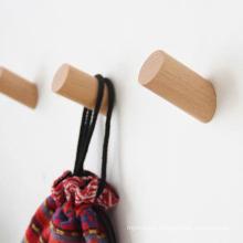 Nordic Beech heavy duty solid wood wall hook