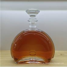 Zarte 750ml Kristallglasflasche Weinflasche