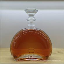 Delicate 750ml Crystal Glass Bottle Wine Bottle